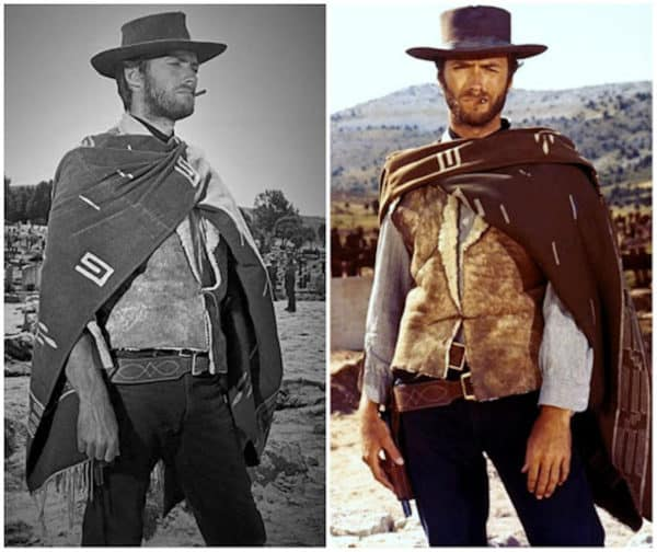 cint eastwood as a man with no name cowboy