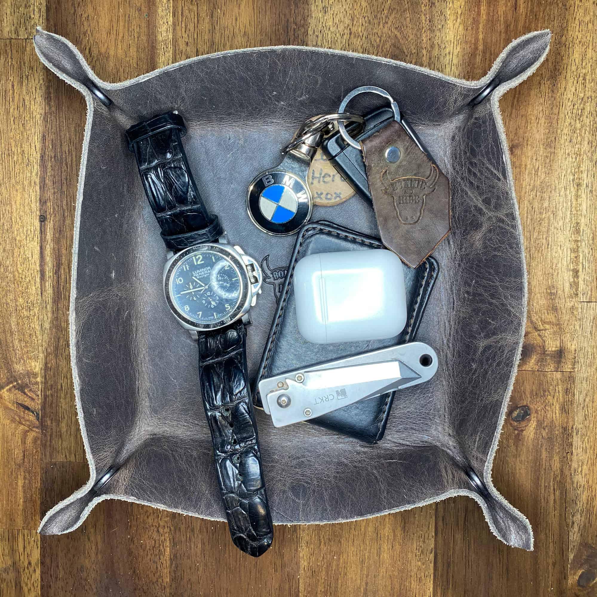 tray full of items